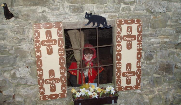 Hexe in der Mühle. (© Ferienregion Attersee-Salzkammergut)