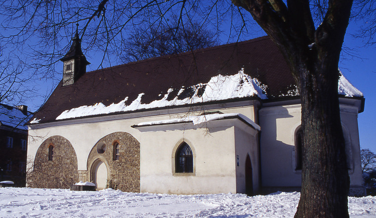 Martinskirche Linz Winter(c)LinzTourismus.jpg (© TVL-Müller)