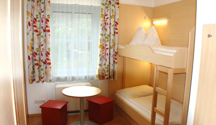 Mehrbettzimmer Jugendgästehaus St. Gilgen