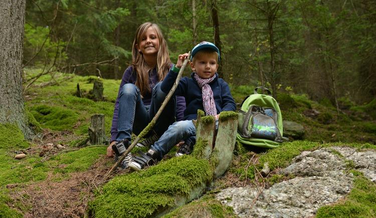 Wandern mit Kindern (© OÖTM_Röbl)