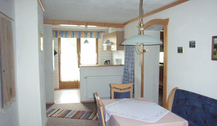 Küche in unserer Ferienwohnung.