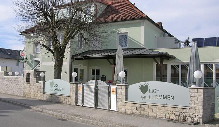Außenansicht des Gasthaus Linimayr