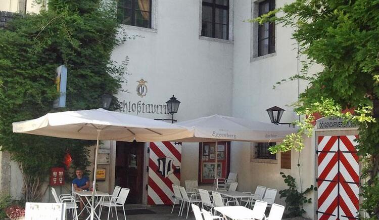 Pizzeria Schlosstaverne Scharnstein Aussenansicht