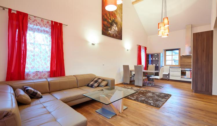 Neulendter Hof in Mettmach - Appartement Wohnbereich