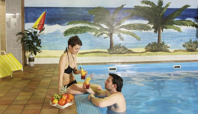 Hotel-Hallenbad im ***Landhotel Haagerhof (© ***Landhotel Haagerhof)
