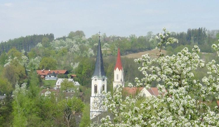 1_katholische und evangelische Kirche (© Wallern)