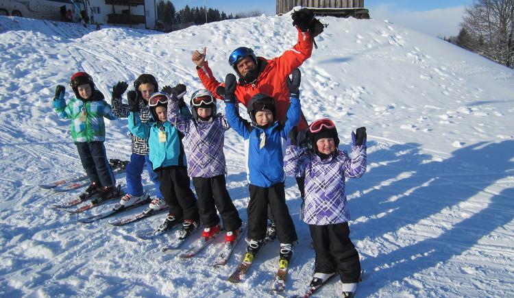 kleine Schifahrergruppe (© Ralf & Walter)