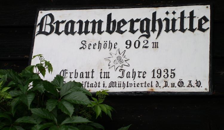 (© Braunberghütte Alpenverein)