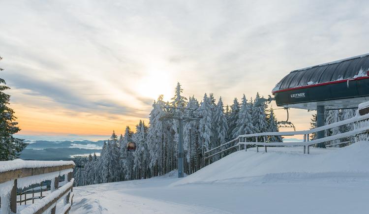 Sternstein Bergstation Morgenstimmung (© Sternsteinlifte)