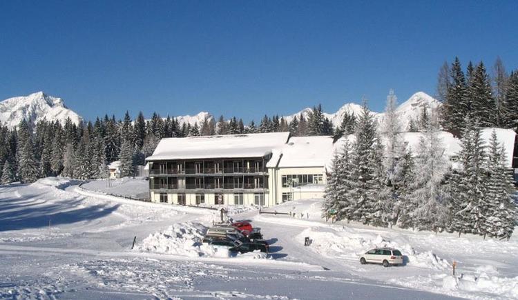 Landes-Jugendhaus Edtbauernalm im Winter (© Landes-Jugendhaus Edtbauernalm)