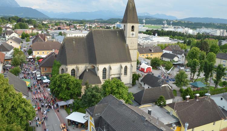 Es tut sich was beim Stadtfest in Laakirchen - besuchen Sie uns! (© Stadtgemeinde Laakirchen)