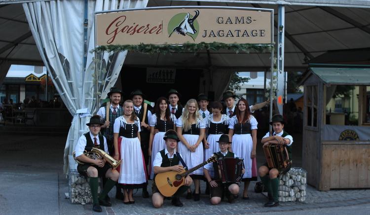 Eröffnung der Goiserer Gamsjagatage. (© Ferienregion Dachstein Salzkammergut)