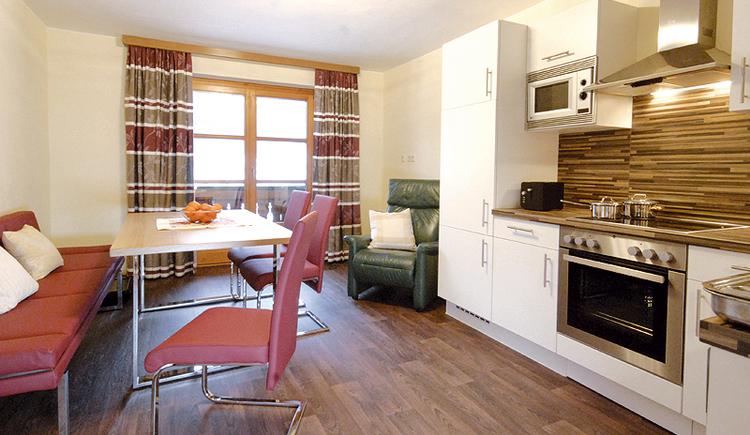 die moderne Küche des Apartments. (© Brandwirt)