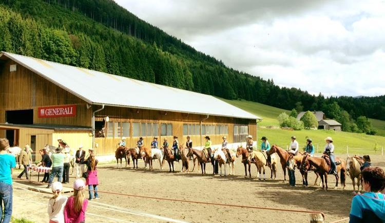 Westernwettkampf - Siegerehrung (© Cold Creek Ranch)