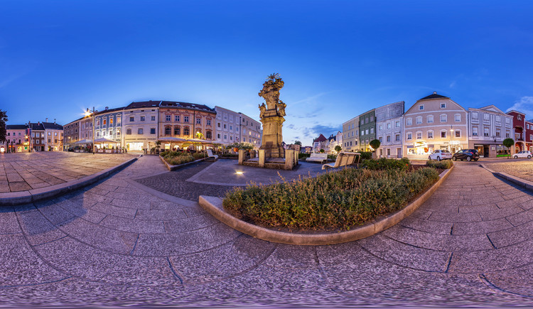 Stadtplatz Eferding (© WGD Donau Oberösterreich Tourismus GmbH / Weissenbrunner)