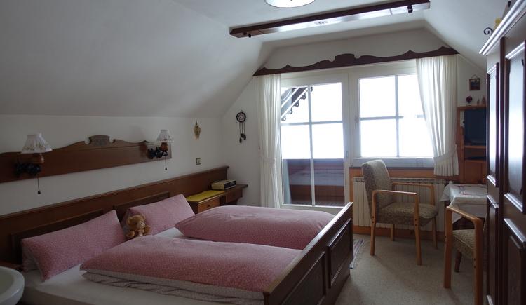 Doppelzimmer im 2. Stock. (© Ebner)
