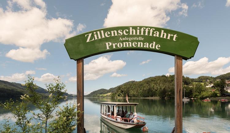 Zillenschifffahrt (© Ebner´s Waldhof GmbH)