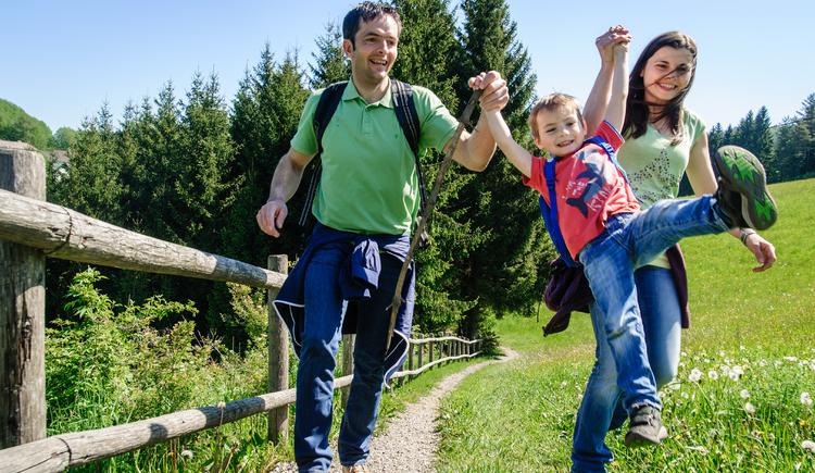 Familientour am Johannesweg (© Mühlviertler Alm/Hawlan)