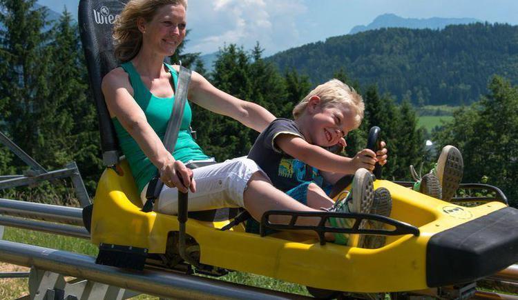 Alpine Coaster am Wurbauerkogel (© HIWU/Jack Haijes)