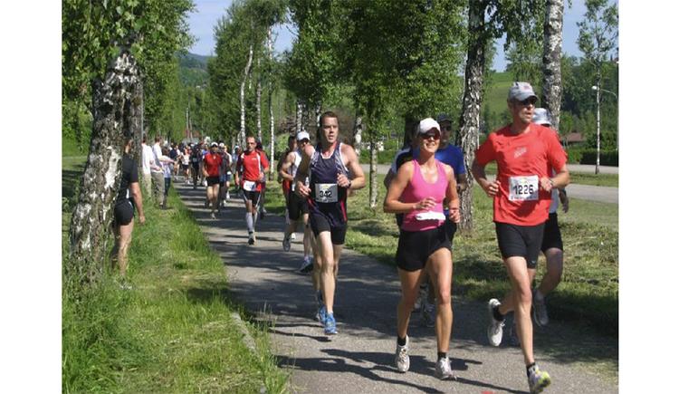 Läufer. (© Tourismusverband MondSeeLand)