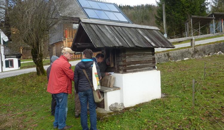 Geführte Wanderung mit Rudi Aumüller zu den Dörrhütten in Bad Goisern am Hallstättersee.