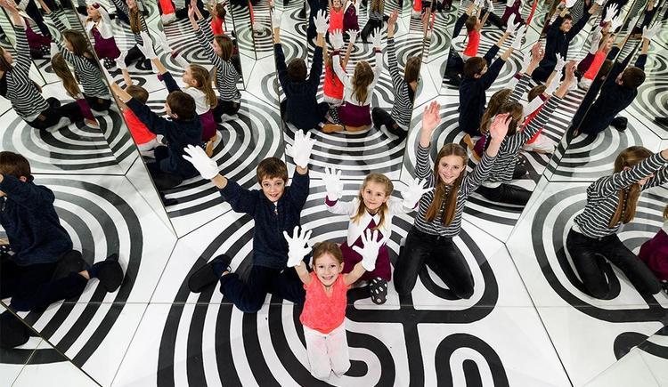 Spiegellabyrinth (© Villa sinnenreich)