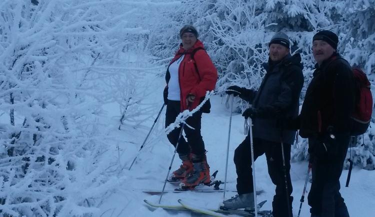 Skitour im freien Gelände. (© KräuterWirt)