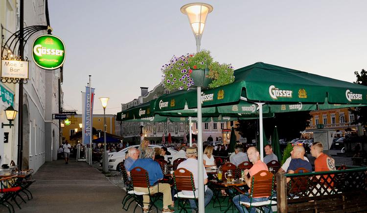 Moe's Bar, Obernberg, Gastgarten\n