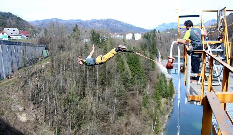 Bungy Jumping in Klaus (© KK)