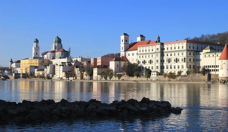 Blick auf die Altstadt von Passau (© Stadt Passau)