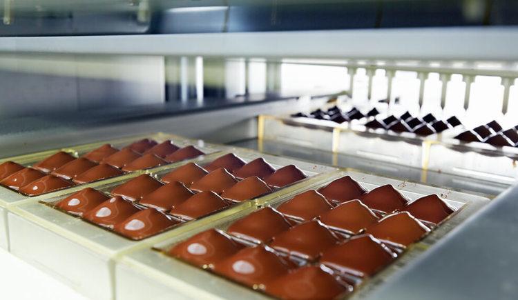 Schokoladenergzeugung