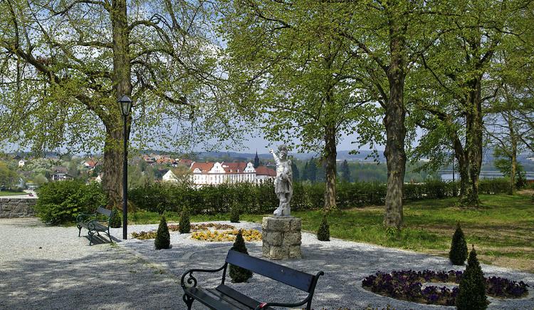 Schlosspark (© Tourismusverband Schärding)