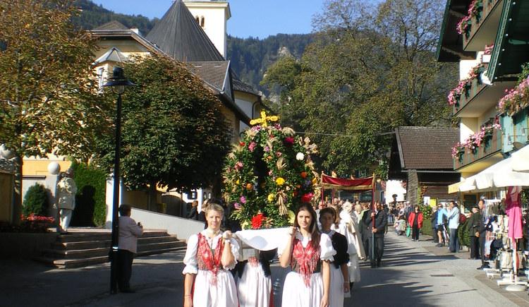 Erntedankfeier in St. Gilgen
