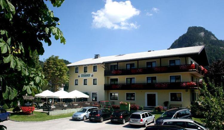 Hotel Stefanihof im Sommer