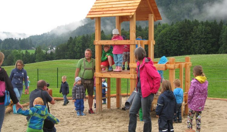 Spielplatz in Faistenau (© Tourismusverband Faistenau)