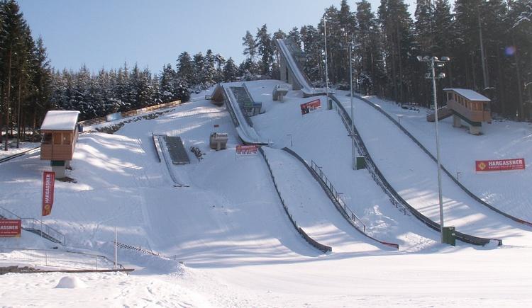 skisprungarena-winter (© Innviertel Tourismsu)