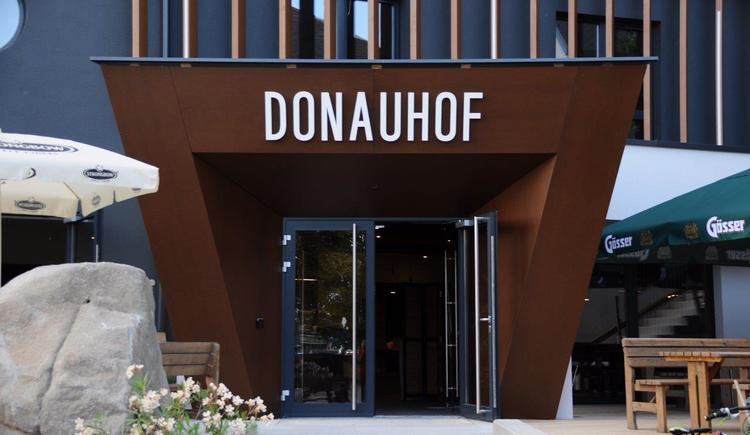Donauhof Eingang (© Donauhof Mauthausen)