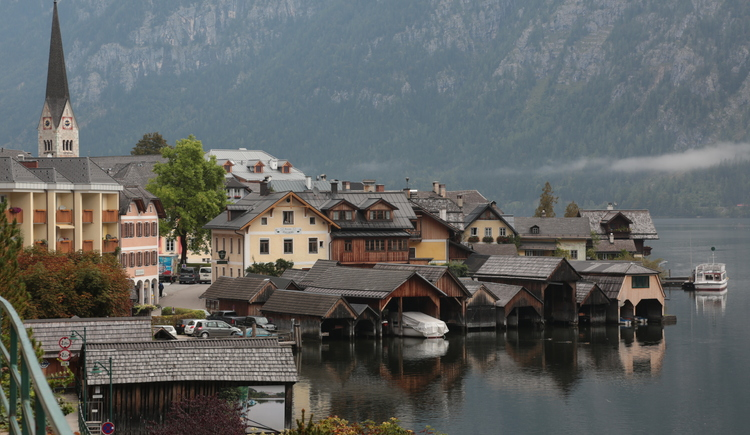 A visit to the Welterbekulturort Hallstatt is definitely a must in the Salzkammergut