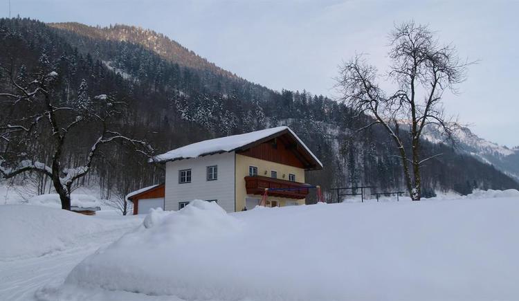 Winteransicht (© Erna Oberascher)