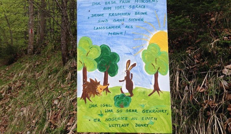 Märchen Hase und Igel. (© WTG)