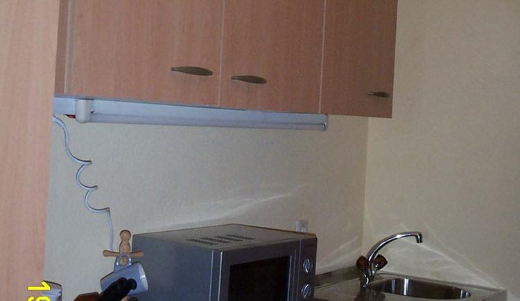 Eine kleine aber feine Küche ist ebenfalls vorhanden.