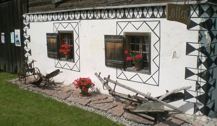 Außenansicht vom Aberseer Heimatmuseum Lipphaus (© Familie Eisl)
