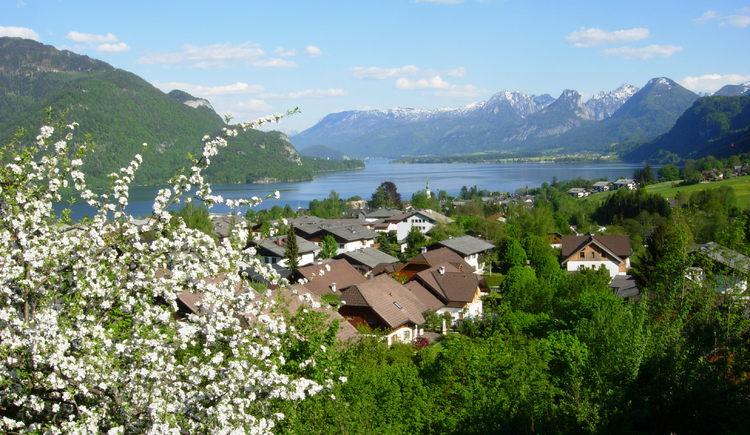 St. Gilgen im Frühling (© Wolfgangsee Tourismus Gesellschaft)