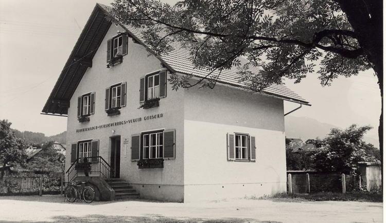 Ehemaliges Gebäude des Feuerschadenversicherungsvereins, die letzte Station unseres Rundweges durch Bad Goisern
