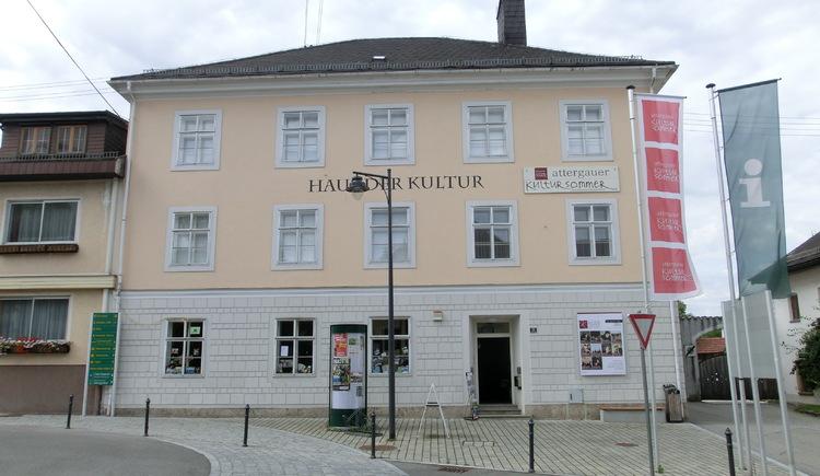 Haus der Kultur in St. Georgen im Attergau. (© TVB Attersee-Attergau, Simone Puchner)