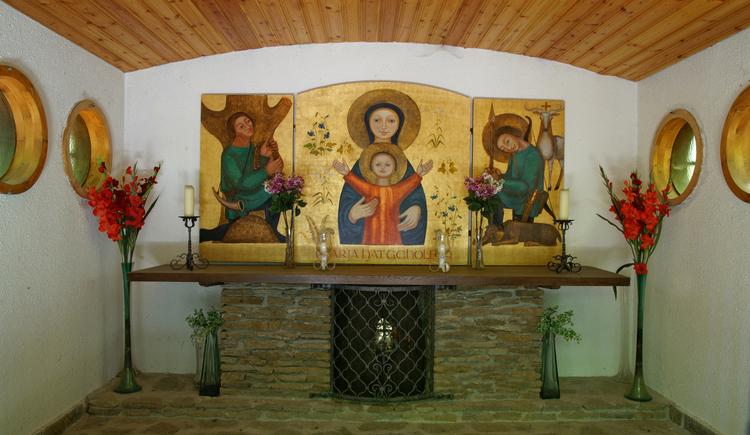 Innenansicht Jagabildkapelle