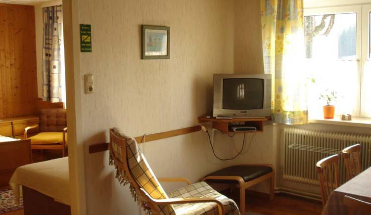 Haus Unterberger, Bad Ischl: Wohnzimmer der Ferienwohnung 1