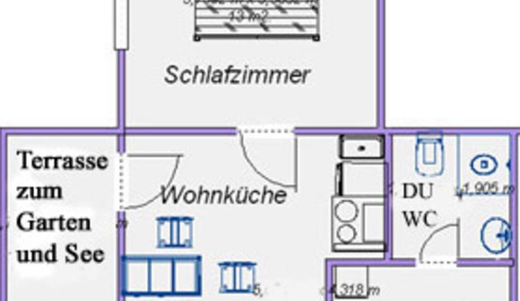 Gartenwohnung 1 Plan