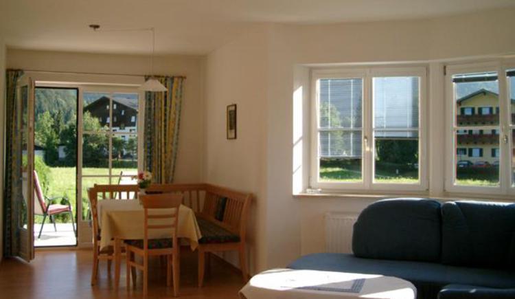 Ferienwohnung Erdgeschoß - Wohnzimmer