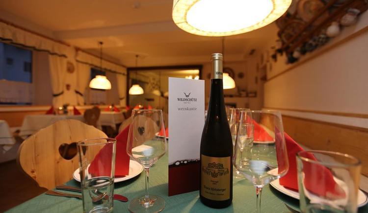 Restaurant (© Hotel Wildschütz)